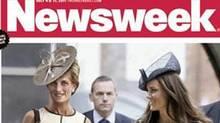 The cover of Newsweek magazine imagines what Diana would look like at 50. (AP/Newsweek)