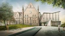 A new proposed development at 1 Spadina Cres. would make the site a University of Toronto hub for education, research and public discussion about cities. (NADAAA/DANIELS FACULTY OF ARCHITECTURE LANDSCAPE AND DESIGN)