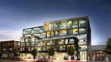 A rendering of 109OZ, the controversial condo building proposed for 109 Ossington Avenue.