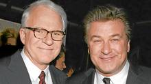 Steve Martin and Alec Baldwin will bring years of experience to their roles as hosts for the Academy Awards ceremony. (Dave Allocca)