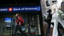 A Bank of Montreal branch in Toronto (Jim Ross for The Globe and Mail)
