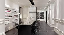 Pamper yourself at the Trump Toronto Quartz Crystal Spa manicure centre in Toronto.
