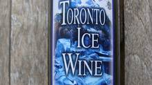 A bottle of supposed Toronto ice wine (Canadian Vintners Association)