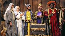 "A manger scene from ""A Russell Peters Christmas"" (CTV)"