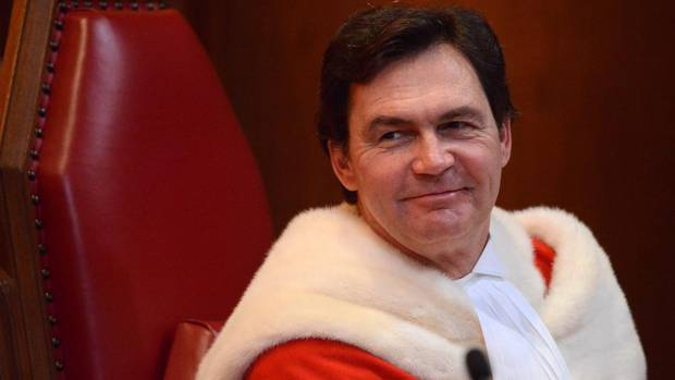 Justice Richard Wagner takes part in his welcoming ceremony at the Supreme Court of Canada in Ottawa on Dec. 3, 2012.
