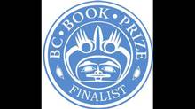 BC Book Prizes logo motif from 'Eagle Full Circle' by Roy Vickers (BC Book Prizes)
