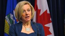 The NDP is proposing to introduce campaign rebates of 50 per cent of the money spent by parties and candidates, as now exist in federal politics. (Dean Bennett/THE CANADIAN PRESS)