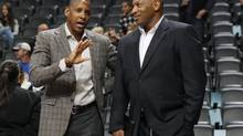 New Toronto Raptors general manager Masai Ujiri has some big challenges ahead if he wants to improve the struggling franchise writes Globe columnist Jeff Blair. (file photo) (David Zalubowski/The Associated Press)