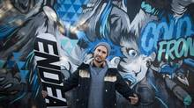 A former professional snowboarder, Max Jenke co-founded Endeavor Snowboards in 2002. The company pulled its boards out of the U.S. after the 2008 financial crisis, but now it wants back in. (Rafal Gerszak For The Globe and Mail)