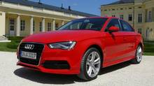 2014 Audi A3 sedan (Petrina Gentile for The Globe and Mail)