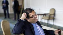 Calgary's Mayor Naheed Nenshi is pictured after attending a Luncheon hosted by The Economic Club of Canada, in Toronto on Sept. 21, 2011. (Chris Young For The Globe and Mail)