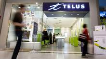 Two advisory firms recommend share consolidation: Telus (JENNIFER ROBERTS For The Globe and Mail)