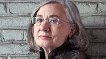 Author Marilynne Robinson at home in Astoria, New York. (Michael Falco)