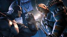Winning fights with bad guys like Deathstroke requires patience and training, which the new Batman: Arkham Origins is only too happy to provide (Warner Bros.)
