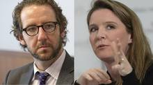Gerald Butts and Katie Telfor (Deborah Baic, Sean Kilpatri/The Globe and Mail, The Canadian Pre)