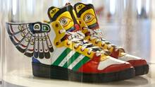 Adidas Totem shoes design in 2013 by Jeremy Scott. (Gloria Nieto/The Globe and Mail)