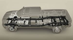 2011 Chevrolet Silverado: Fully boxed frame and new front and rear suspensions.