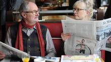 Le Weekend stars Lindsay Duncan and Jim Broadbent. (Nicola Dove)