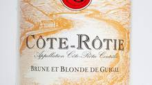 The look of a winner: Researcher Luiz de Mello says the Guigal Côte-Rôtie label typifies what the study found to be attractive: a horizontal rectangle and green and yellow and brown characters.