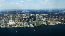 Toronto's skyline. (Michelle Siu/Michelle Siu for The Globe and Mail)
