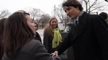 Liberal leader Justin Trudeau (MATHIEU BELANGER/REUTERS)