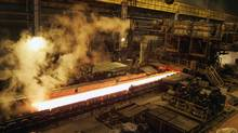 The Posco steelworks in Gwangyang, north of Seoul (LEE JAE-WON/REUTERS)