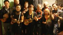 The Ukesters are the Ruby's Ukes Ukulele School performance group. (handout)