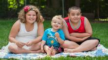Susan Cosgrove's children are Liam, age 12, diagnosed with autism, Kaya, age 10, gifted/ADHD/learning disability/anxiety and Phoenix, age 2, autism. (Lorrine Peruzzo Photography)