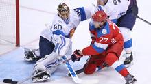 Canada will play its old Cold War rival, Russia, in Saturday's World Cup semi-final, with the winner advancing to the best-of-three final starting next Tuesday. (Tom Szczerbowski/Getty Images)