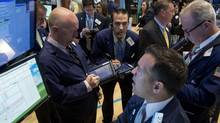 For the past two or three months, what is known as market breadth has been falling (Brendan McDermid/Reuters)