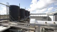 Oil storage tanks at Cenovus's Pelican Lake operation (Rene Michaud - Bliss Photographi/Cenovus)