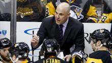 The Arizona Coyotes have named Rick Tocchet as head coach, replacing Dave Tippett, who parted ways with the franchise after last season. (Gene J. Puskar/AP)