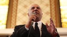 O'Leary issued a statement accusing an unidentified campaign of using untraceable prepaid credit cards to sign up party members. (THE CANADIAN PRESS/Lars Hagberg Notes:)