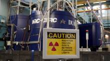 A sign is seen outside reactor at the AECL Chalk River nuclear facility in this 2007 file photo. (CHRIS WATTIE/CHRIS WATTIE/REUTERS)