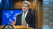 U.S. Secretary of State John Kerry has determined that the Islamic State group is committing genocide against Christians and other minorities in Iraq and Syria. (J. Scott Applewhite/AP)
