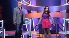 Ben Bailey, left, and Amanda Sestak in Who's Still Standing?