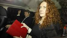 Former News International chief executive Rebekah Brooks arrives before giving evidence before the Leveson Inquiry into the ethics and practices of the media at the High Court in central London May 11, 2012. (STEFAN WERMUTH/REUTERS)