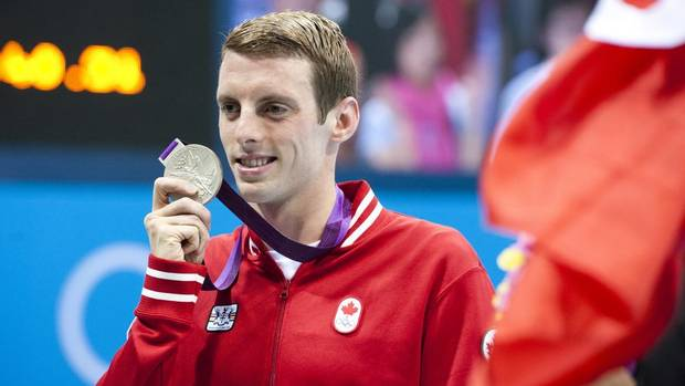 SILVER - Ryan Cochrane, 1500m freestyle swimming