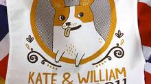 The impending nuptials of Prince William and his fetching fiancee have inspired a rare spurt of funky commemorative design.