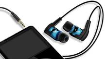 Each earbud in the Ultimate Ears TripleFi 10 noise-isolating earphones contains three tiny speakers that draw out the nuances of what you're listening to. (Ultimate Ears)