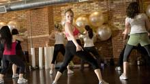 Flirty Girl Fitness in Chicago is one of many gyms in North America that offer Zumba classes. The dance fitness program merges exercise with upbeat music and dancing – ranging from salsa to merengue to hip hop. (JENNIFER ROBERTS/The Globe and Mail)