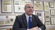 Financier Bill Browder, seen in his London office, will arrive in Ottawa Monday. (Luke Tchalenko for The Globe and Mail)