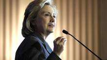 Hilary Clinton's new book, Hard Choices, is being released on June 10, 2014. (SUSAN WALSH/ASSOCIATED PRESS)