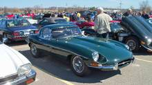 The Ancaster British Car Flea Market, held the second-last Sunday in April, kicks off the annual series of summer meets of classic British car enthusiasts (Mike McGraw)