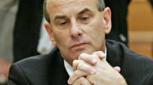 David Dingwall, former head of the Royal Canadian Mint and Liberal cabinet minister, appears before a Commons committee in 2005. (FRED CHARTRAND/The Canadian Press)