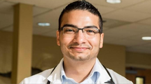 Simon Mendoza-Moreno has recently become a licensed physician's assistant and landed a position at a Washington clinic.
