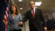 A scene from Client 9: The Rise and Fall of Eliot Spitzer