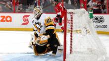 Matt Murray will start in net for the Pittsburgh Penguins in Game 4 of the Eastern Conference final against the Ottawa Senators. (Jana Chytilova/Freestyle Photo/Getty Images)