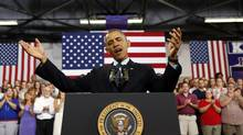 U.S. President Barack Obama is grappling with the problem of declining middle-class prosperity. (KEVIN LAMARQUE/REUTERS)