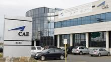 This file photo shows CAE's headquarters, located in Montreal. (Paul Chiasson/The Canadian Press)